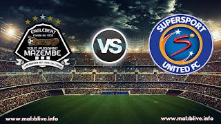 شاهدة مباراة مازيمبي و سوبر سبورت يونايتد TP Mazembe vs Supersport United في نهائي كأس الكونفيدرالية بث مباشر