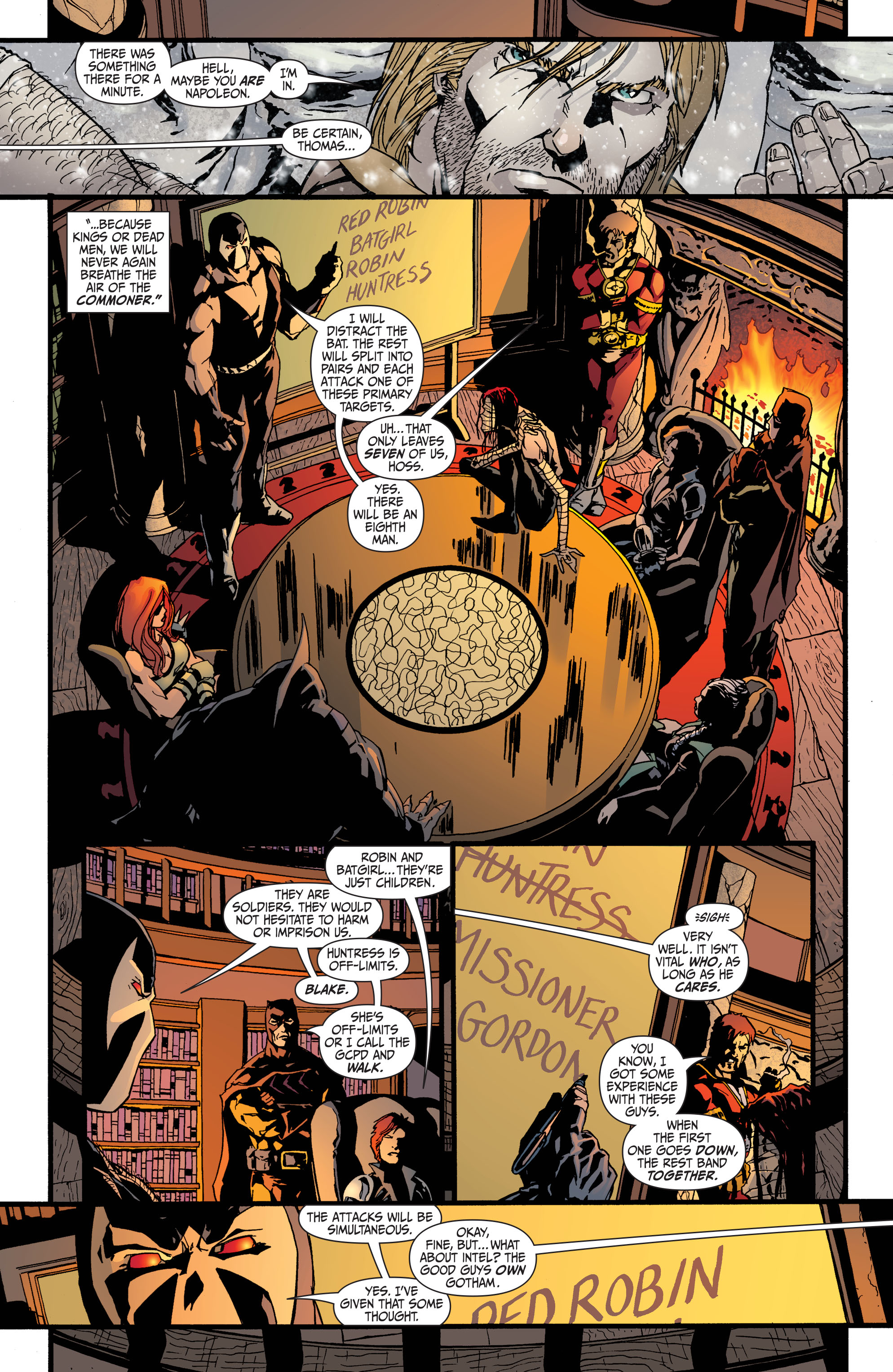 Read online Secret Six (2008) comic -  Issue #35 - 11