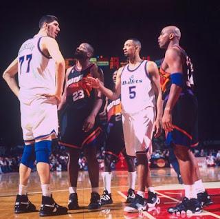 NBA tarihinin en uzun basketbolcuları - George Muresan