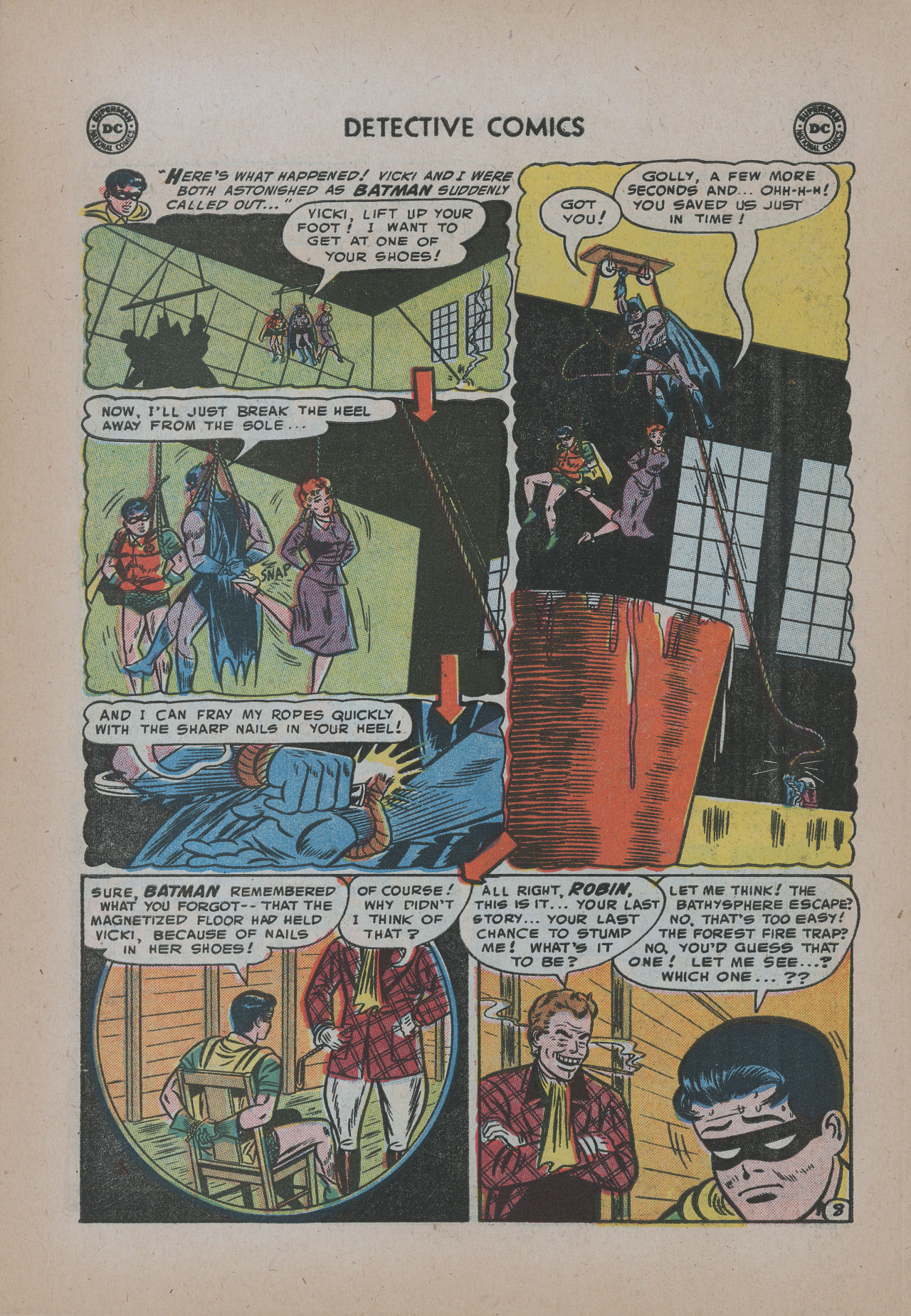 Read online Detective Comics (1937) comic -  Issue #221 - 10