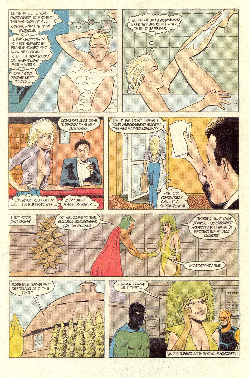 Read online Secret Origins (1986) comic -  Issue #33 - 30