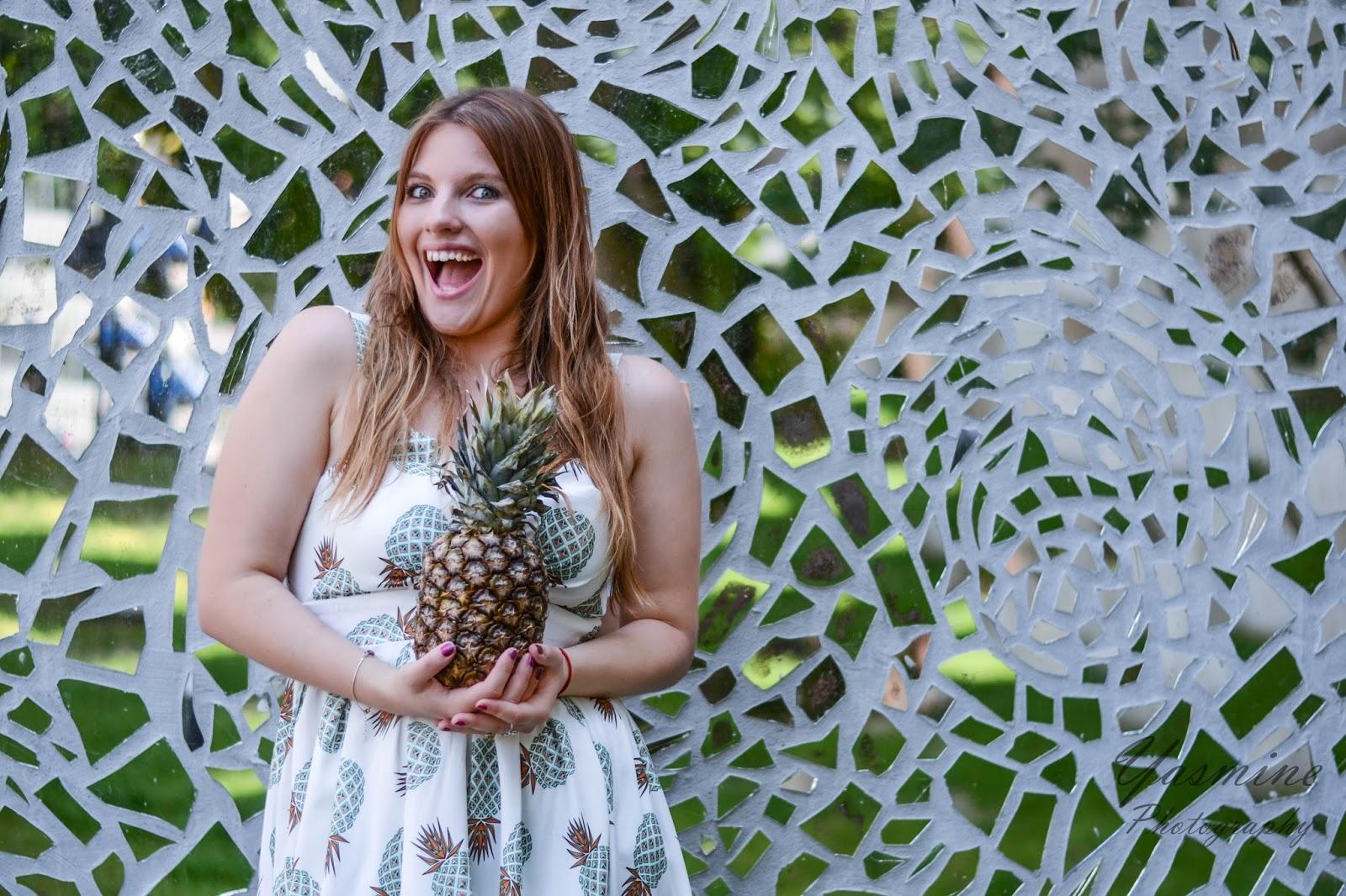 czy warto kupowac na stronach chińskich sklepów zaful sammydress dresslink sukienka w ananasy chińskie sklepy internetowe jakość pineapple dress fashion style melodylaniella yasmine photography