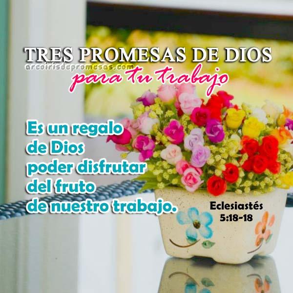 tres promesas de dios para el trabajo de tus manos reflexiones cristianas con imágenes