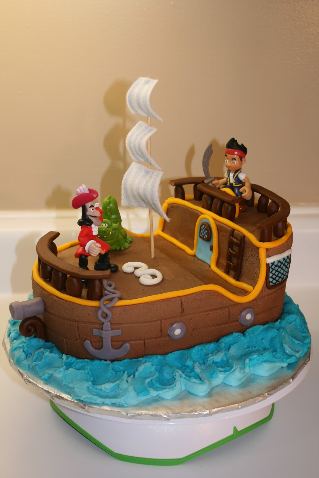 Blessed Hands Cake Design: Jake & The Neverland Pirates Cake