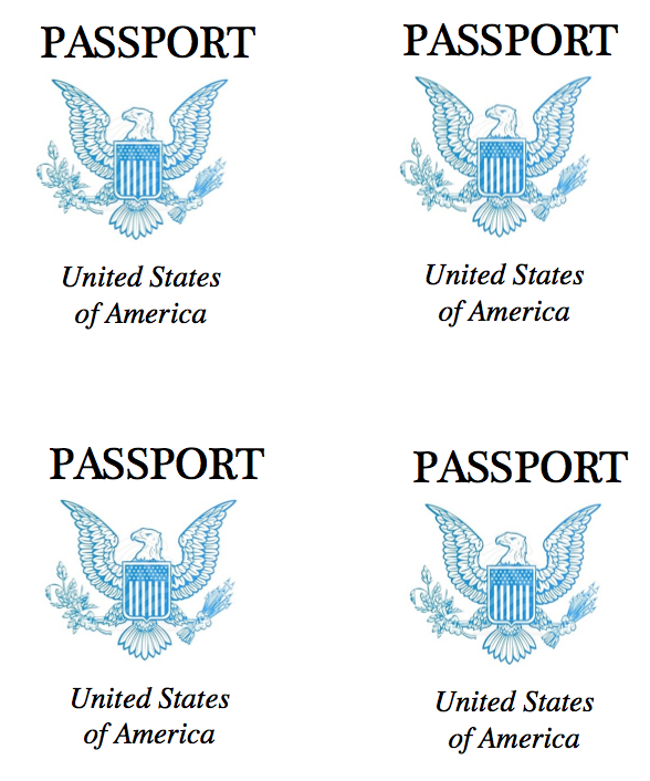 Passport Image Template editable stamps rebe with a clause – Free Passport Template for Kids
