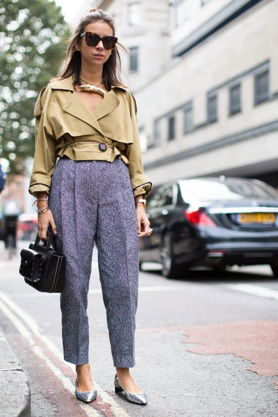 Natasha Goldenberg LFW Street Style London Fashion Week