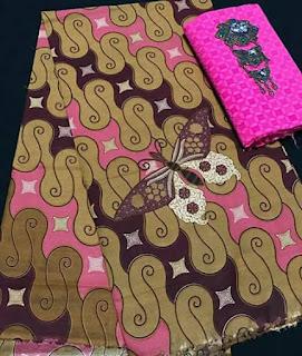 jual Batik corak kupu-kupu