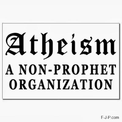Atheism - a non-prophet organization