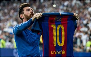 Messi ở sân bernabeu