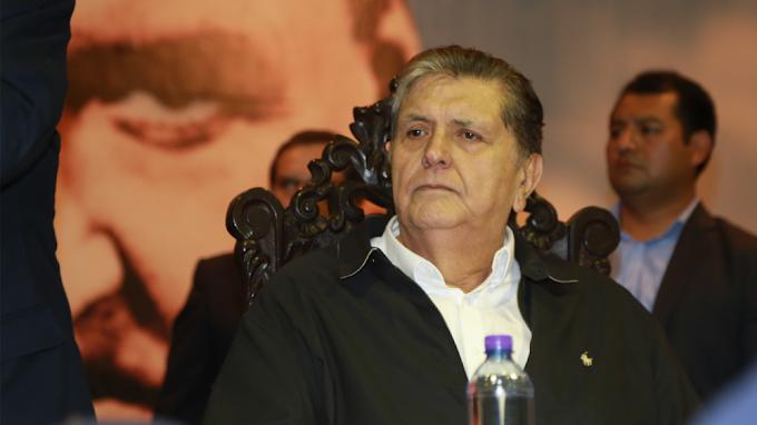 """Carta de Alan García antes de morir: """"No hubo ni habrá cuentas ni sobornos ni riquezas"""""""
