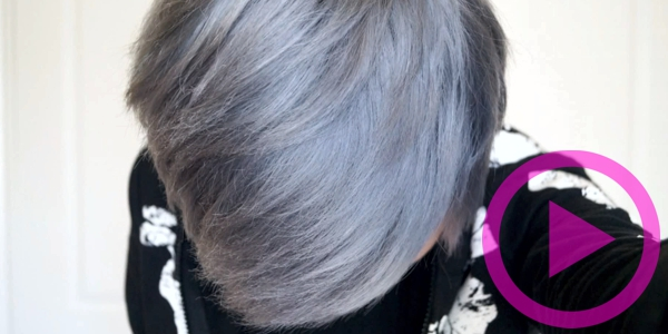 How To Dye Your Hair Silver Grey The Safe Way