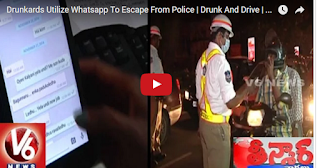 Drunkards Utilize Whatsapp To Escape From Police  Drunk And Drive