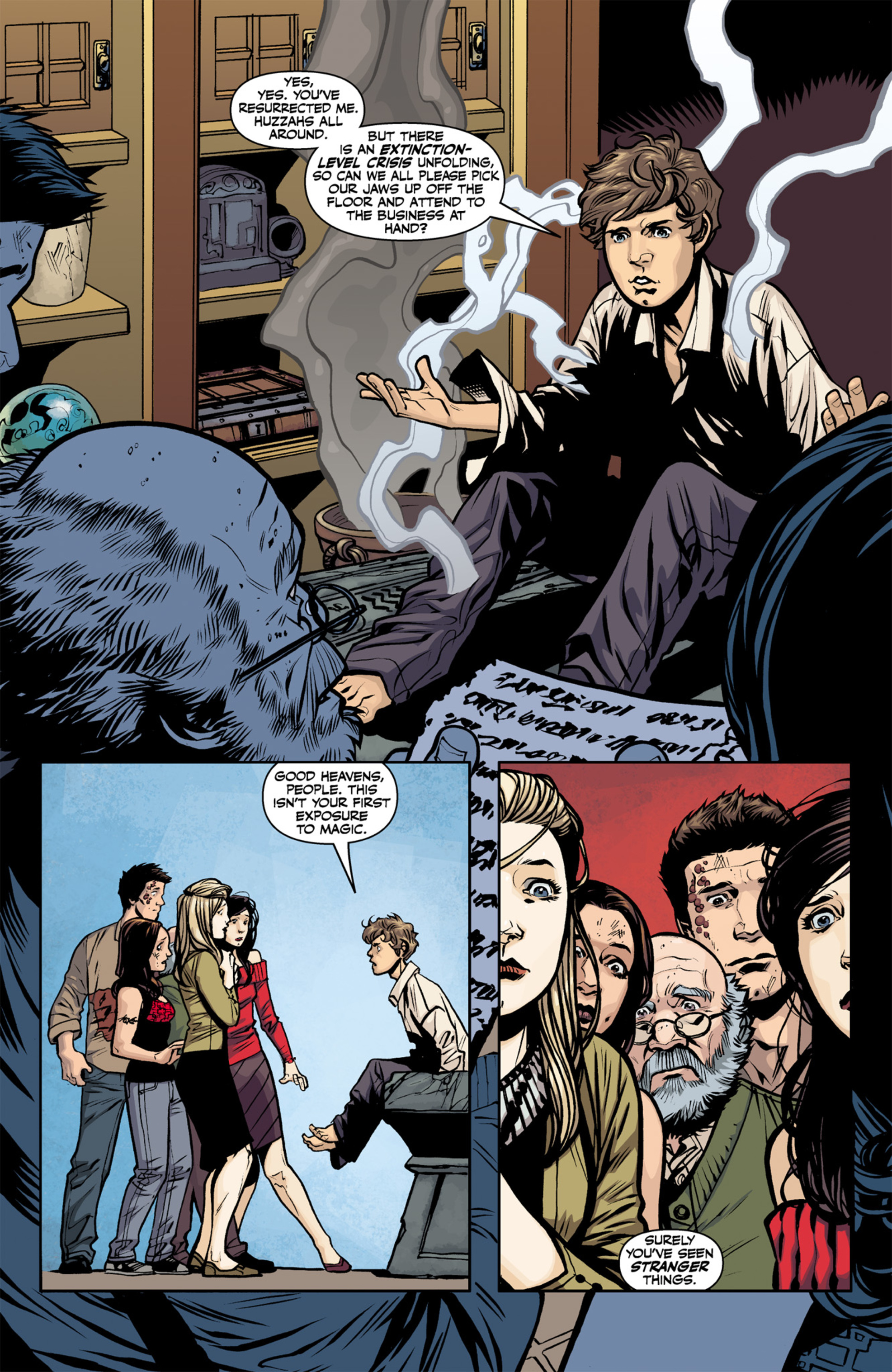 Read online Angel and Faith comic -  Issue #22 - 7