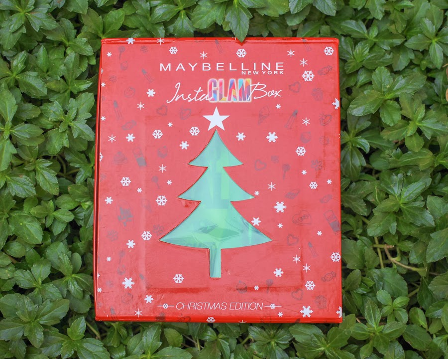 Maybelline InstaGlam Box, Christmas Gift, Red, Makeup, Budget Makeup