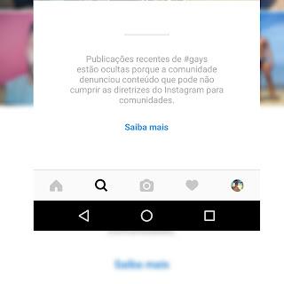 Instagram está bloqueando tags ligadas ao público LGBT