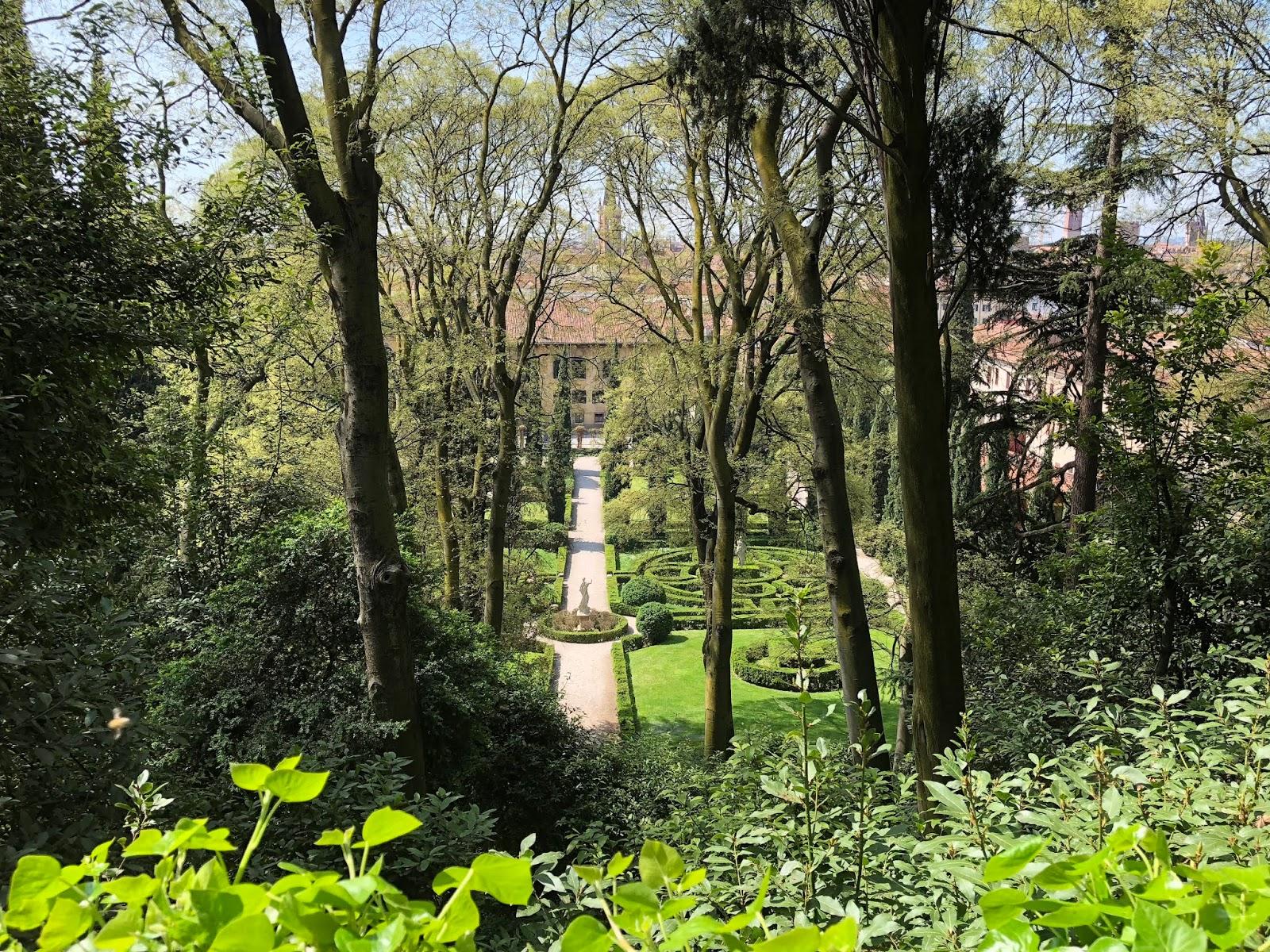 сады Джусти Изображение palazzo giardino giusti Верона