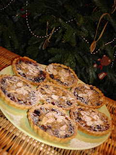 Mince Pie Crumble Tarts