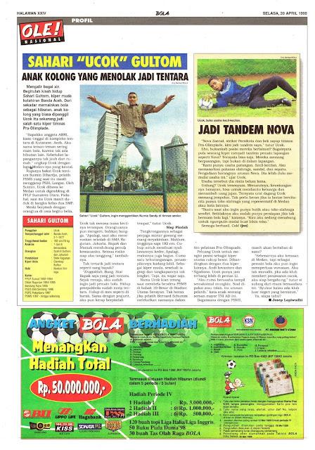 LIGA INDONESIA PROFIL SAHARI GULTOM