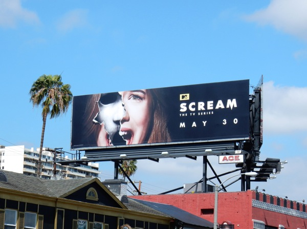 Scream season 2 MTV billboard