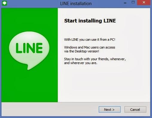 برنامج line للاتصال المجانى للكمبيوتر اخر اصدار 2016