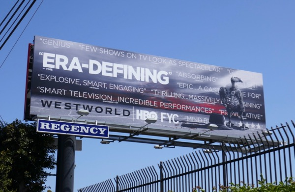 Westworld season 2 Emmy fyc billboard