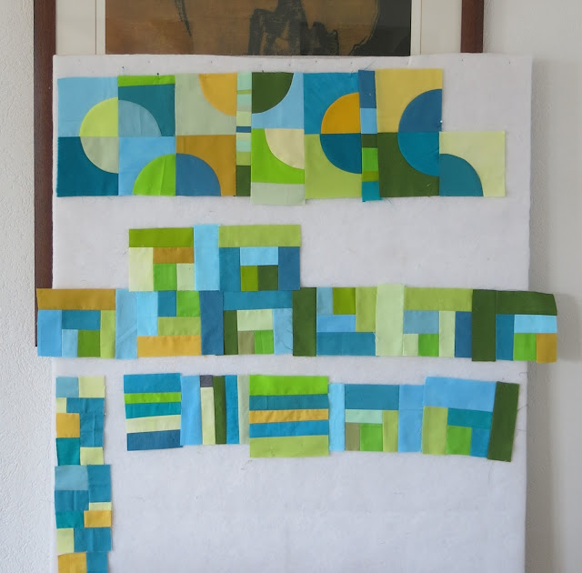 Sophie Thomas's work in progress - Sherri Lynn Wood book - Score #4 - Patchwork Doodle