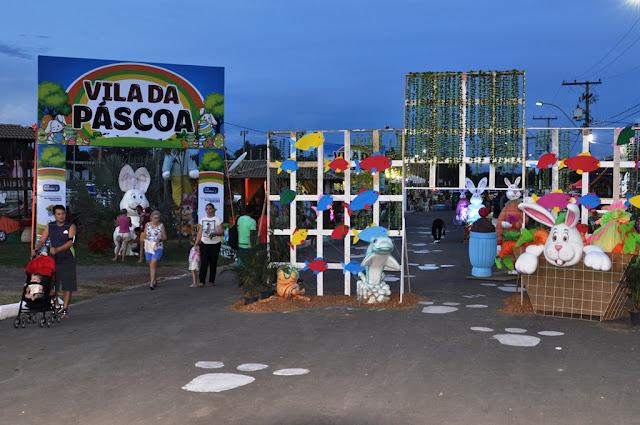 3ª edição da Páscoa no Parque movimentou mais de 1 milhão em vendas de pescados, chocolates e alimentos