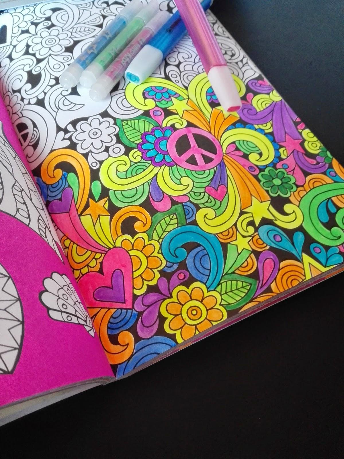 Kleurplaten Voor Volwassenen Muziek.Daily Inspiration Het Enige Echte Kleurboek Voor Volwassenen