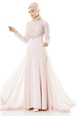 robe hijab de soirée 2019