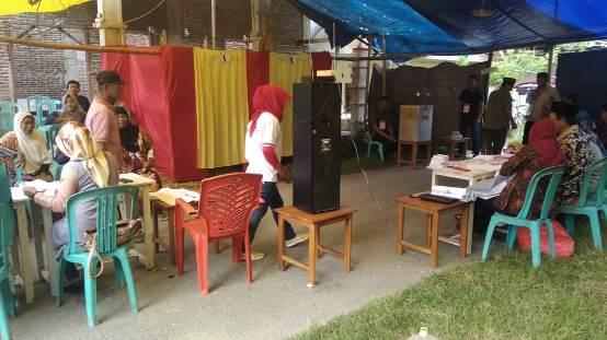 Sekda Selayar, Nyoblos di TPS Adituka Benteng