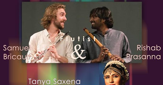 Les Flûtes Enchantées. A poetic journey with the enchanting flute in Chennai