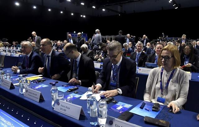 Duke e nevojshme 3 më shumë vota të jetë një anëtar i Komitetit Ekzekutiv UEFA