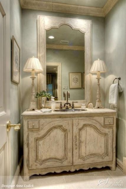 تصاميم حمامات كلاسيكية