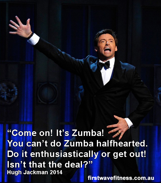 The Surprising Thing I Have in Common with Hugh Jackman mythriftstoreaddiction.blogspot.com Zumba!