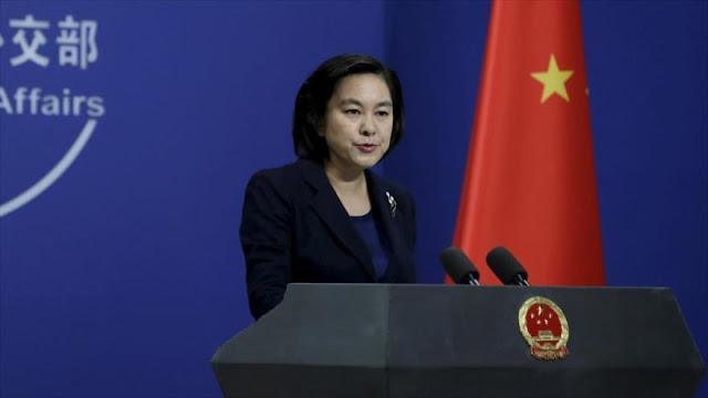 China ningunea sanciones de EEUU y defiende lazos con Irán