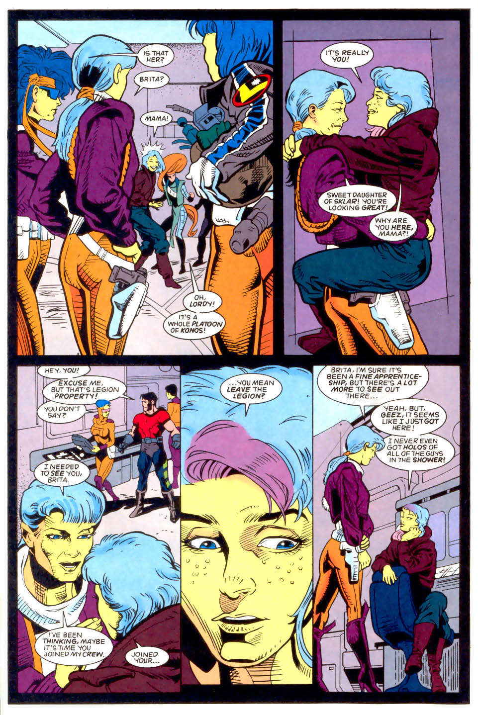 Legion of Super-Heroes (1989) 50 Page 12