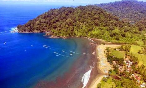 Tempat wisata pantai rajegwesi di banyuwangi