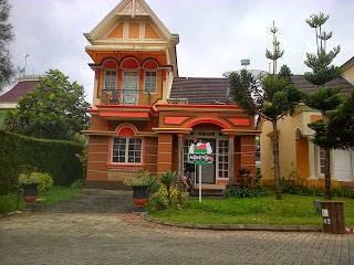 villa kota bunga puncak