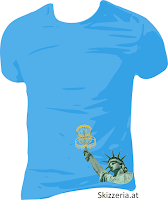 Lady Liberty  Disc Golf Shirt Lende