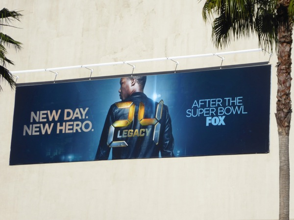 24 Legacy series launch billboard