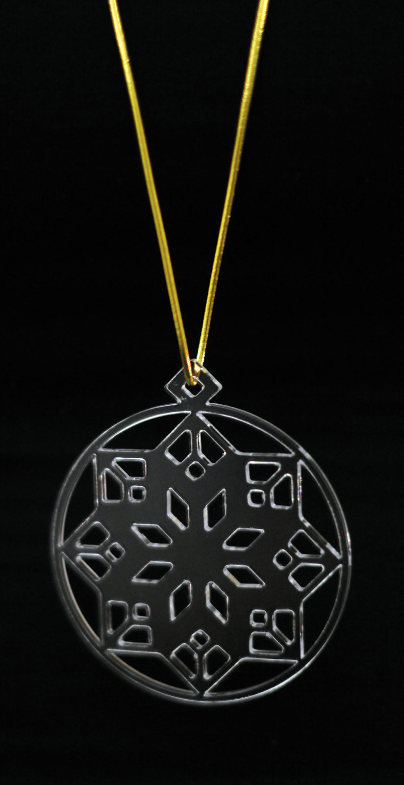 Snowflake Necklace | Jen Haugan Illustration