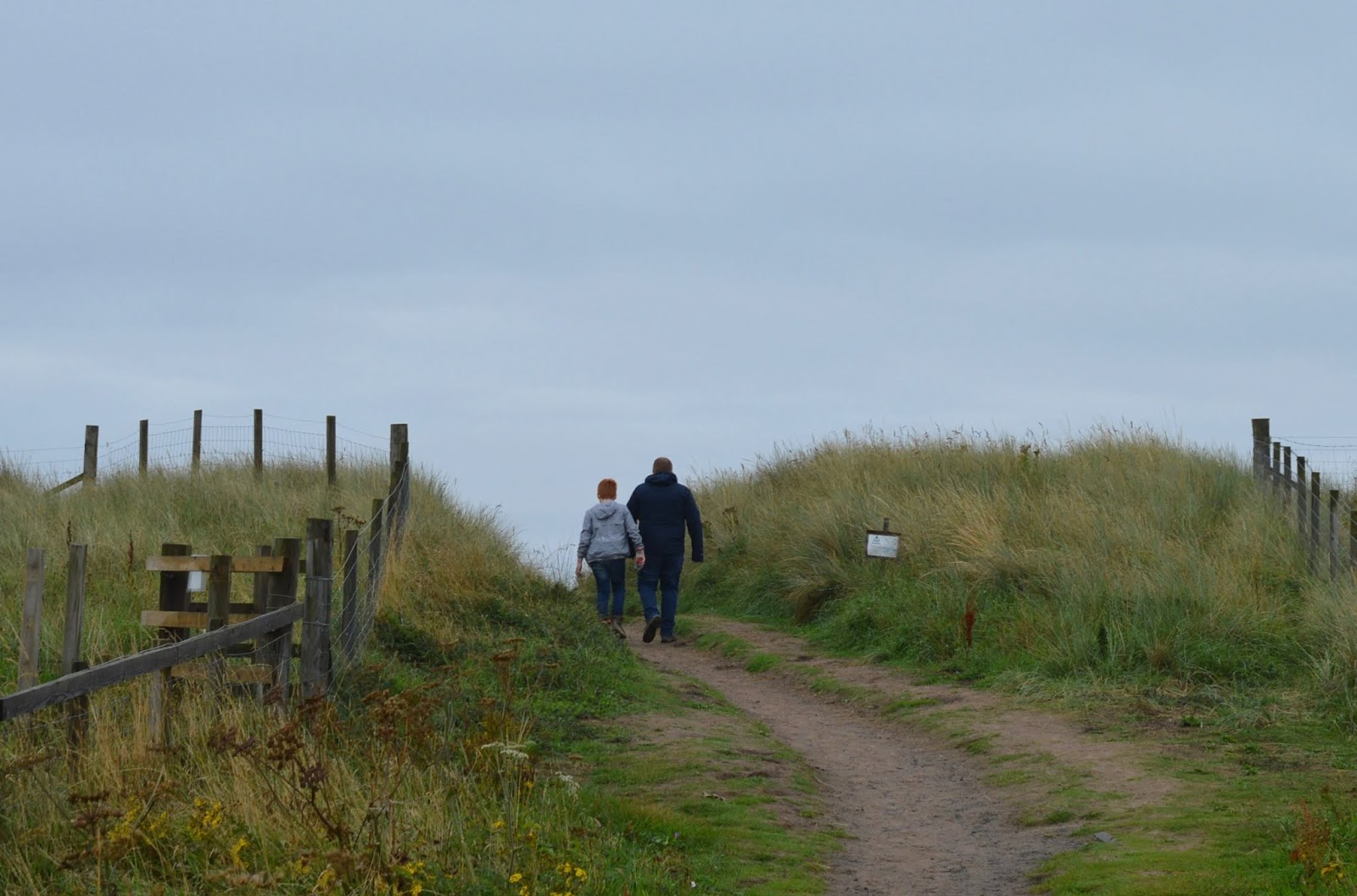 Coastal Adventures in Northumberland with Parkdean Resorts - Druridge Bay sand dunes