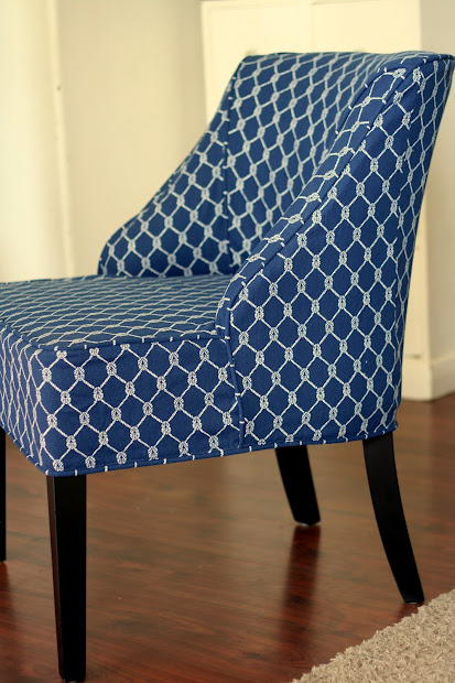 "Custom Slipcovers Shelley Armless Chair And """