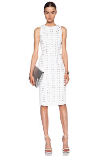 cushnie et ochs corset dress, linda maintanis