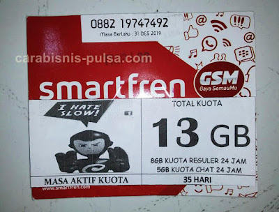 Perdana Internet Kuota Smartfren 16GB