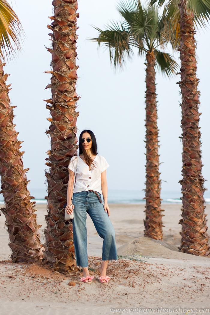 Blogger influencer Valenciana playa Canet ideas vestir comoda natural moda hecha en españa