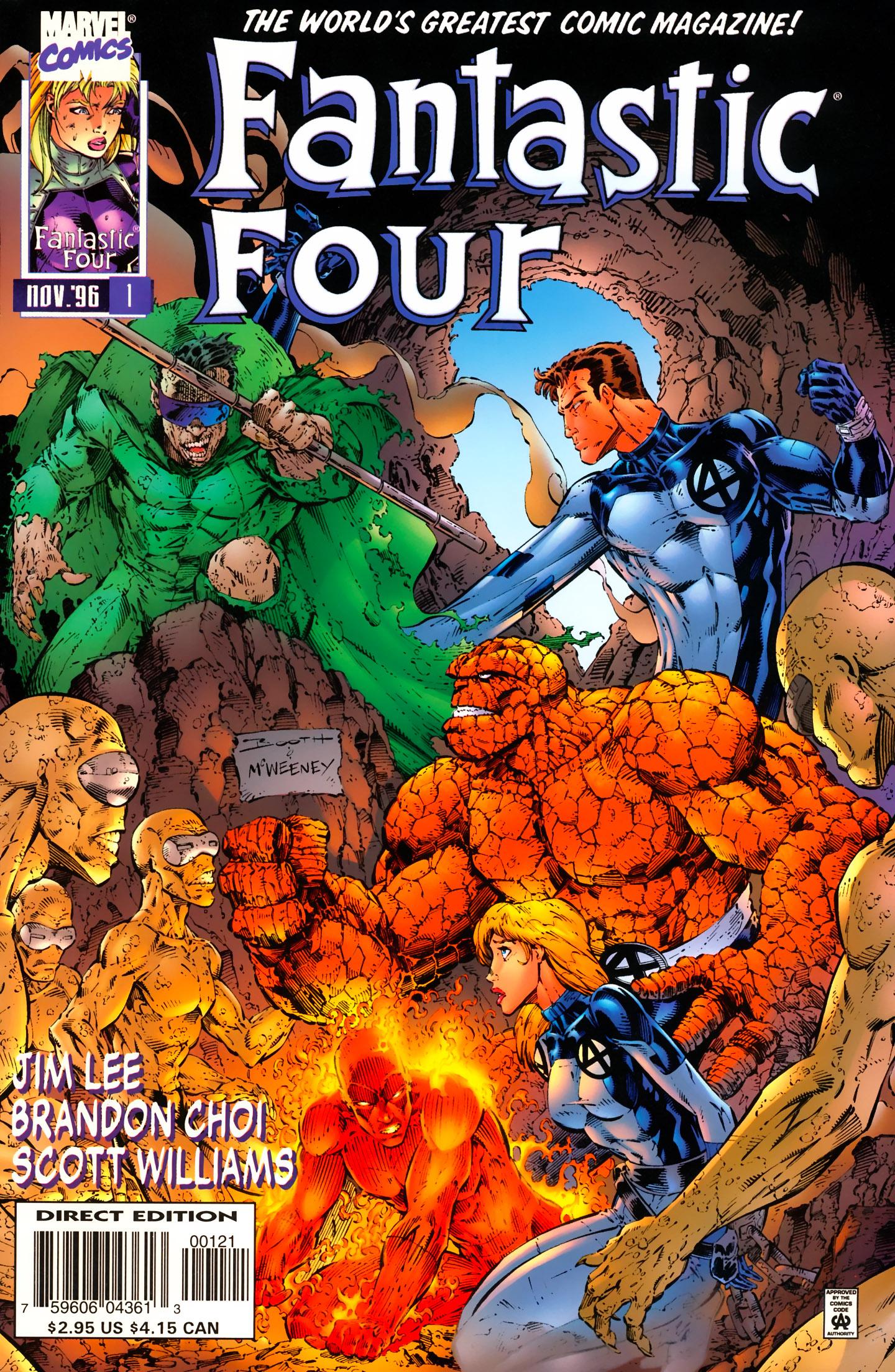 Fantastic Four (1996) 1 Page 2