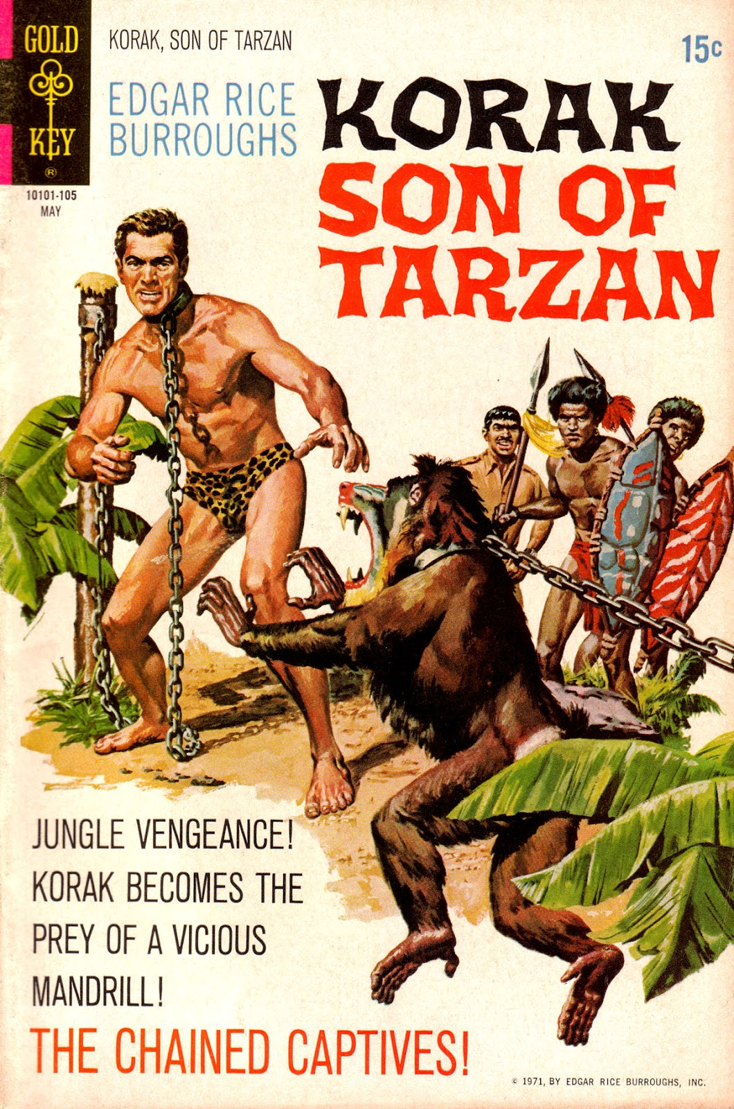 Korak, Son of Tarzan (1964) issue 41 - Page 1