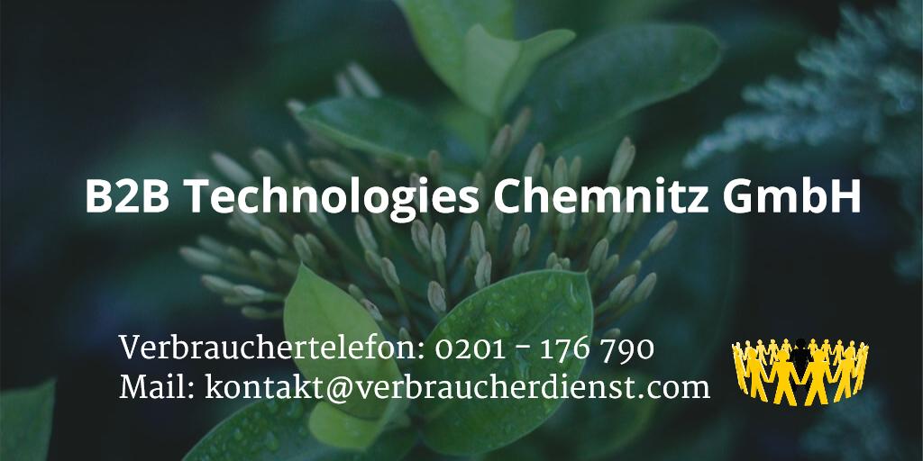 B2b Technologies Chemnitz
