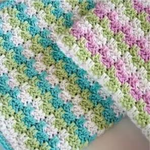 Punto Rayas Crochet